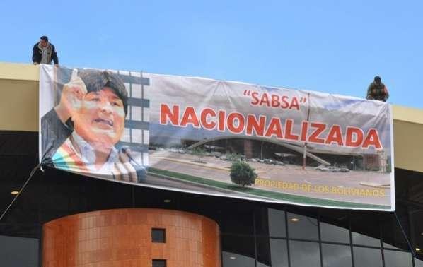 Ministro de Obras Públicas afirma que hubo una falsa nacionalización de Sabsa