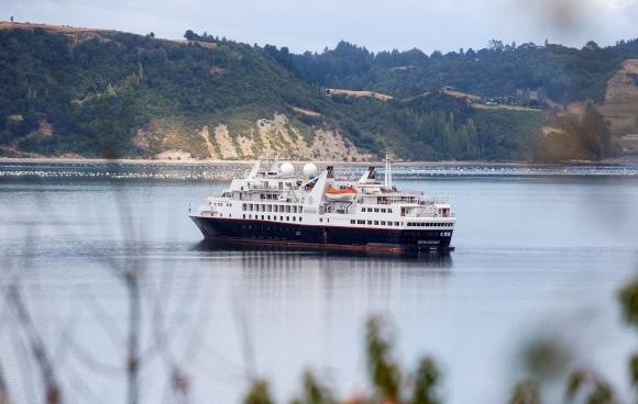 Crucero Silver Explorer en Chile. Foto: Reuters