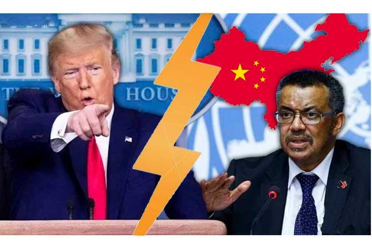 Trump amenaza a la OMS con una salida definitiva de Estados Unidos