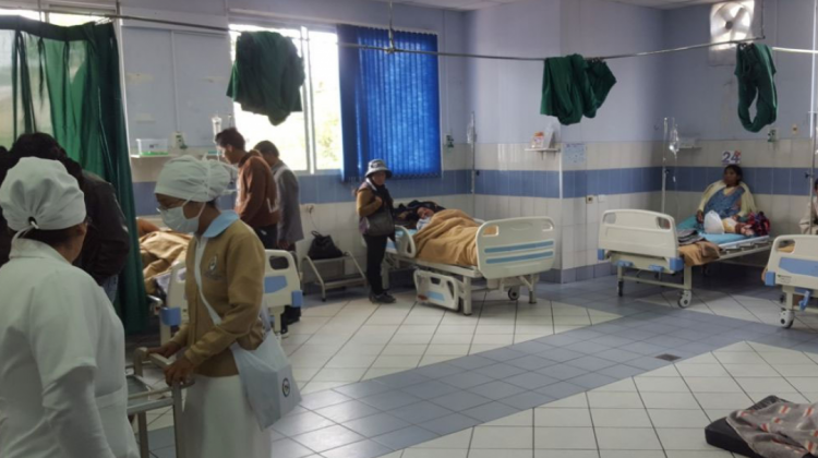 Dramática situación en servicios de emergencia del país