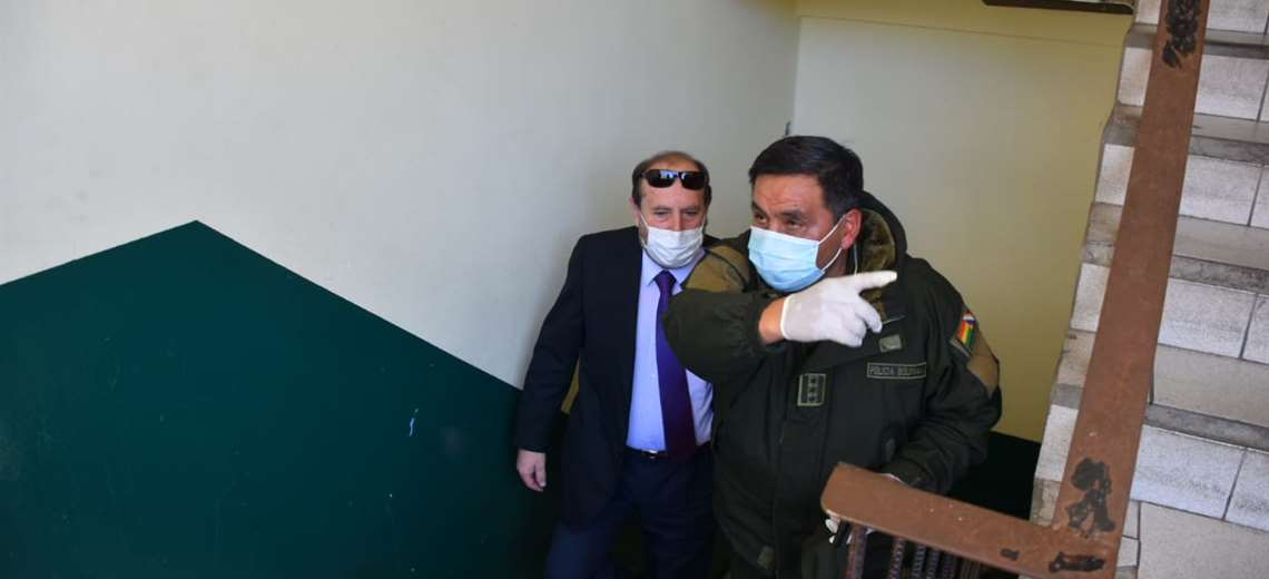 Felcc afirma que ministro Marcelo Navajas está en calidad de aprehendido