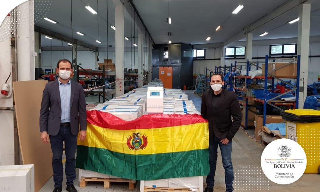 """Cónsul de Bolivia en Barcelona: """"Me dijeron vaya y verifique que existían los 170 respiradores, pero no el proceso de contratación"""""""