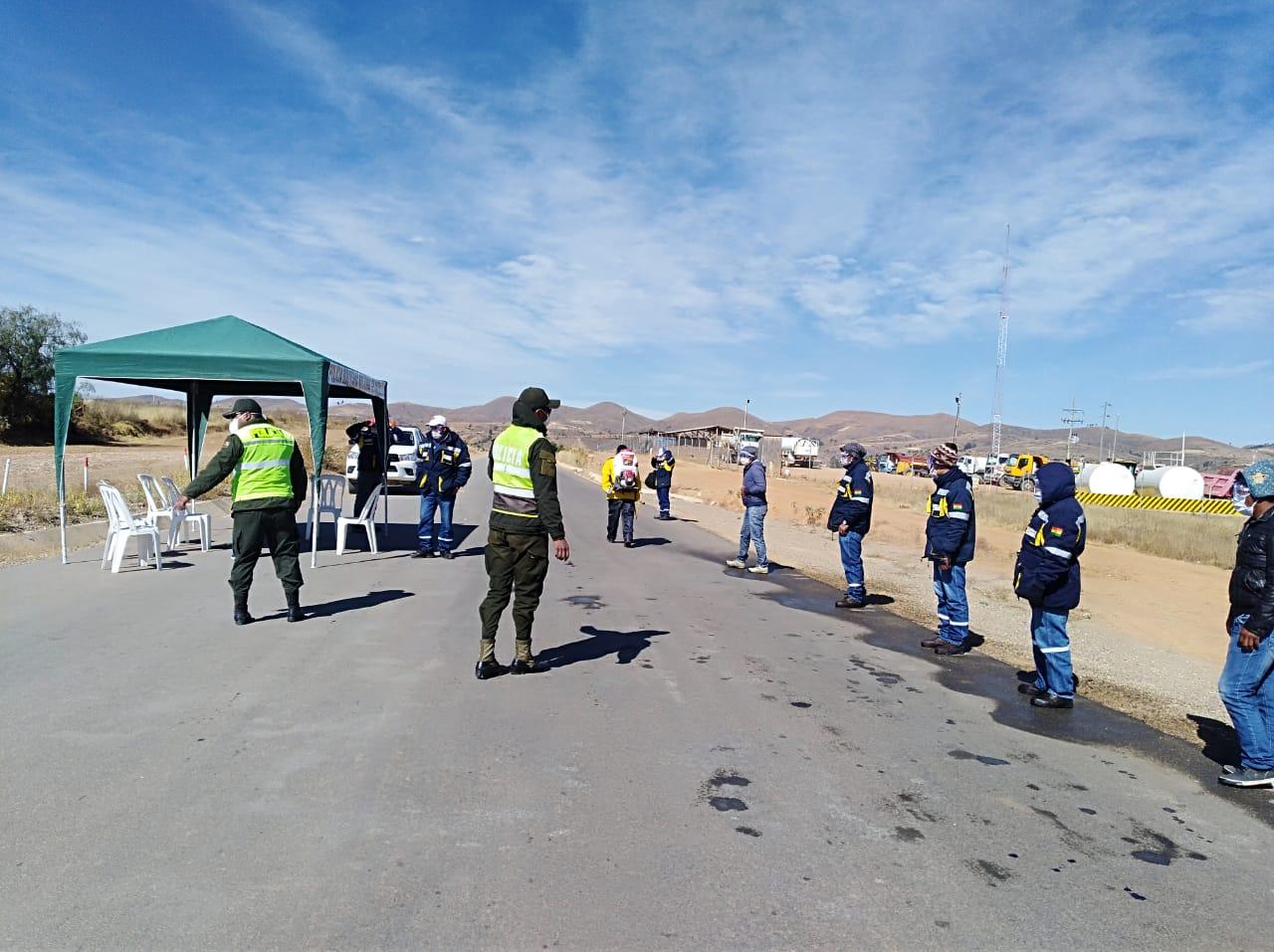 Se reinician obras en tramo Tarata-Río Caine en Cochabamba