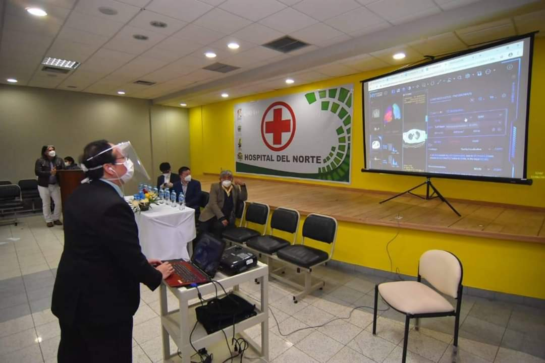 Hospitales aplican inteligencia artificial de Huawei para detectar casos Covid-19