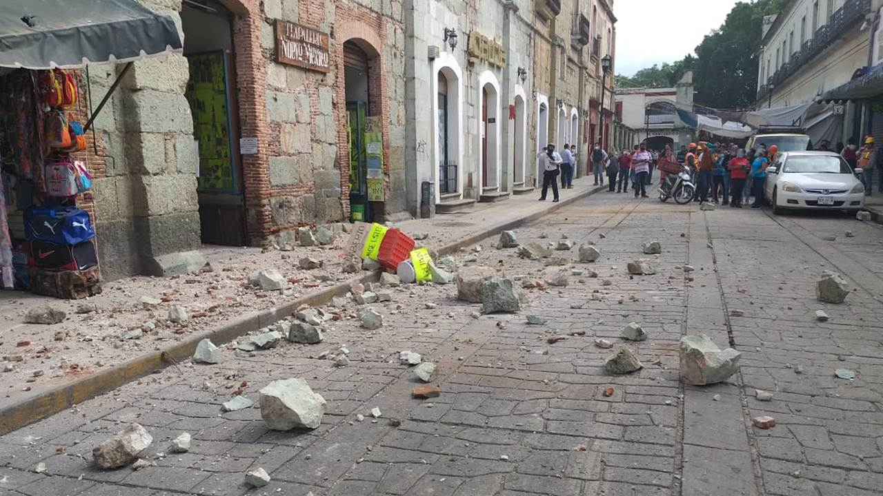 Suman a 7 los fallecidos por el sismo en México