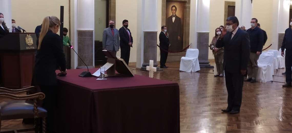 El abogado potosino Jorge Oropeza asume como nuevo ministro de Minería