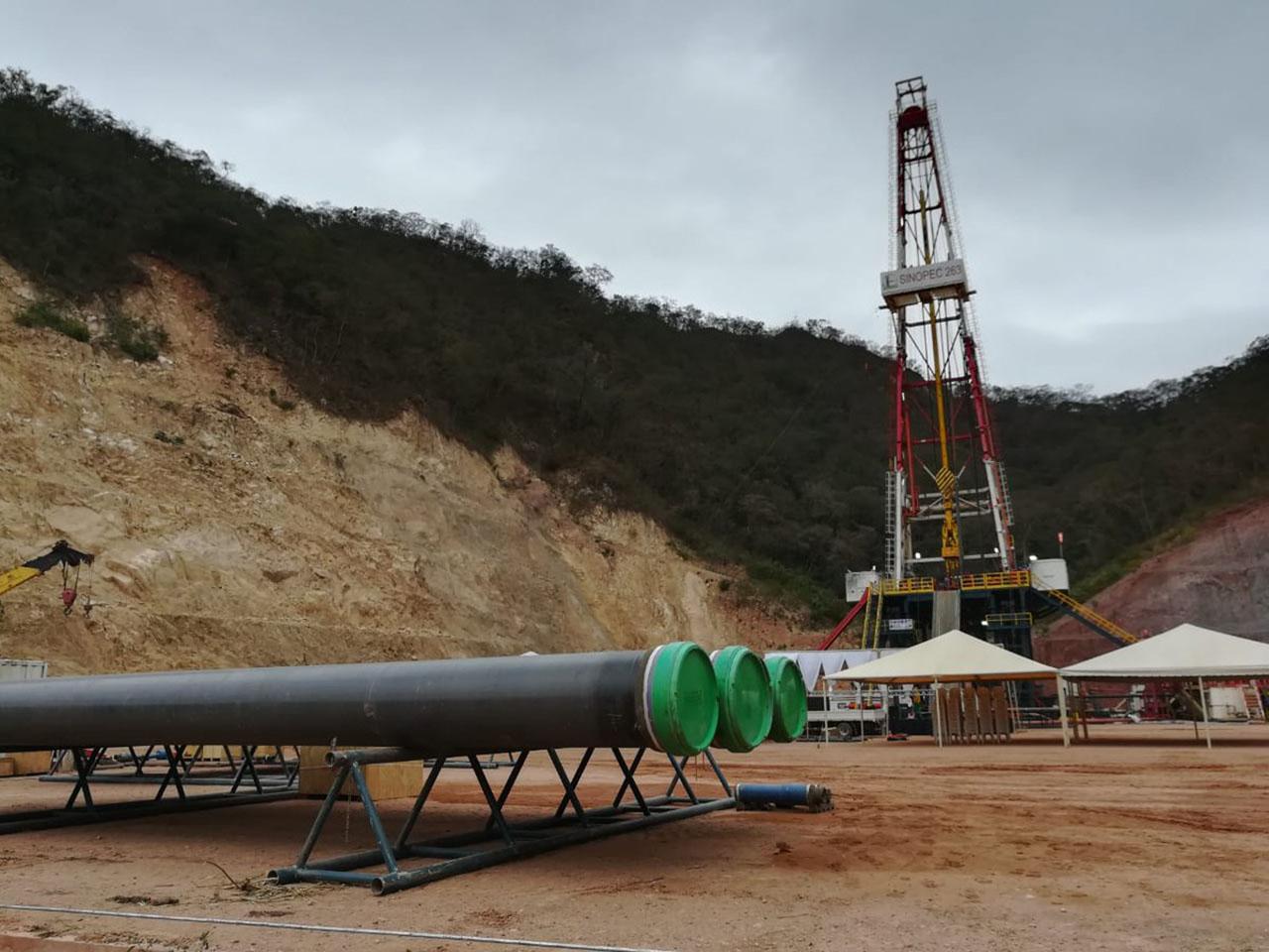 Viceministro anuncia que potencial del pozo Sipotindi en Chuquisaca, supera las expectativas.
