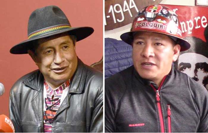 """Mineros tachan a Rafael Quispe: diálogo con el gobierno """"es imposible"""""""