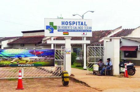 Hospital de Cobija colapsa por enfermos de covid -19