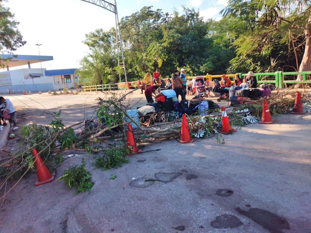 Defensoría del Pueblo evidencia abandono de 40 migrantes en frontera con Brasil