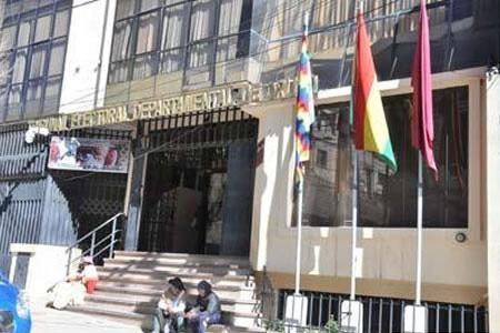 Presidente del TED Oruro alerta que el proceso electoral se mueve en terreno arenoso