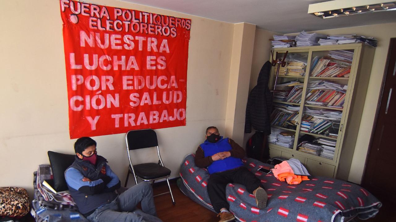 Maestros de Chuquisaca piden la renuncia del Ministro de Educación