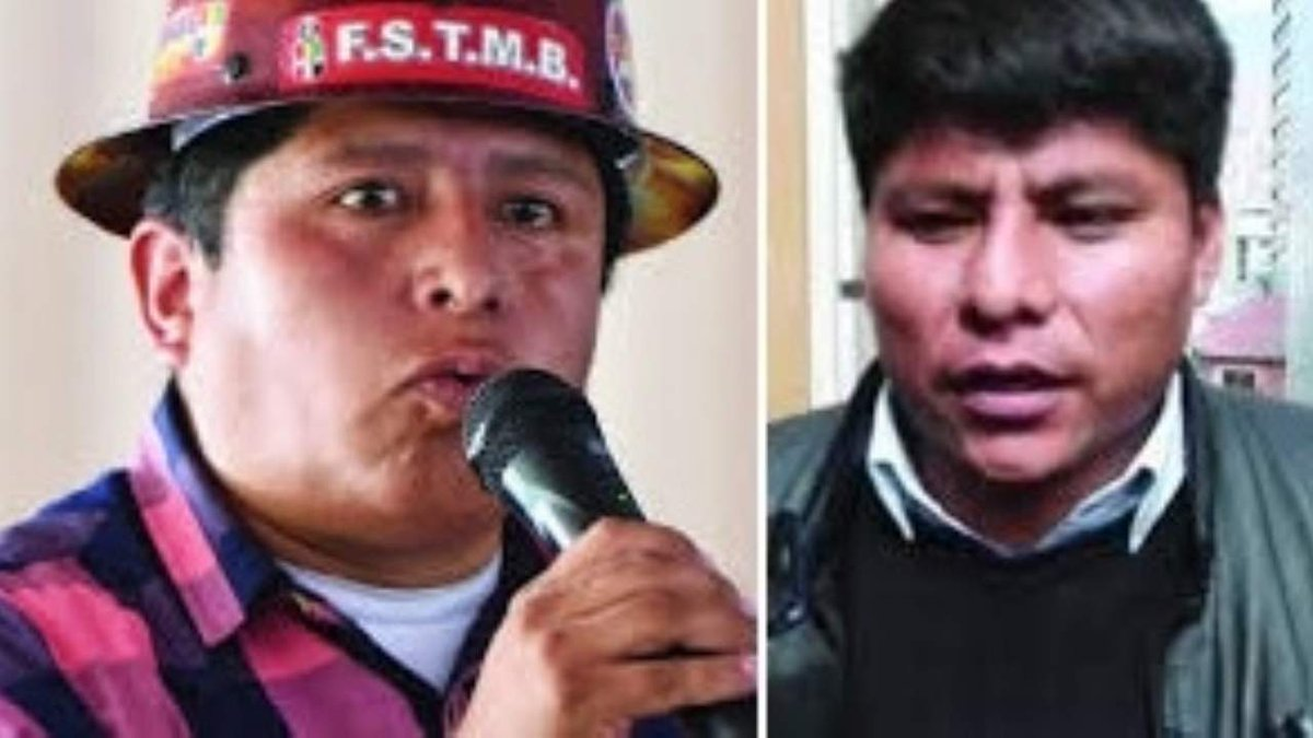 """Huarachi y Loza dicen que no temen """"amenazas"""" del Gobierno y ratifican protestas"""