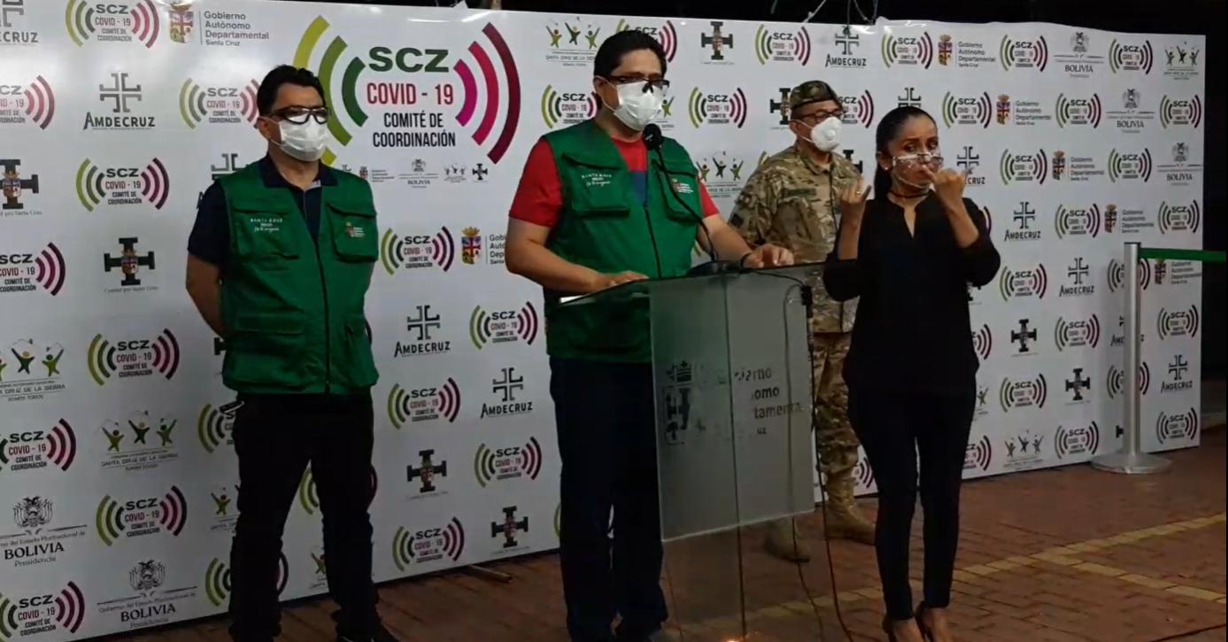Gobernación y municipios refuerzan Plan de Mitigación contra el Covid-19 con 600 camas en 55 municipios de Santa Cruz