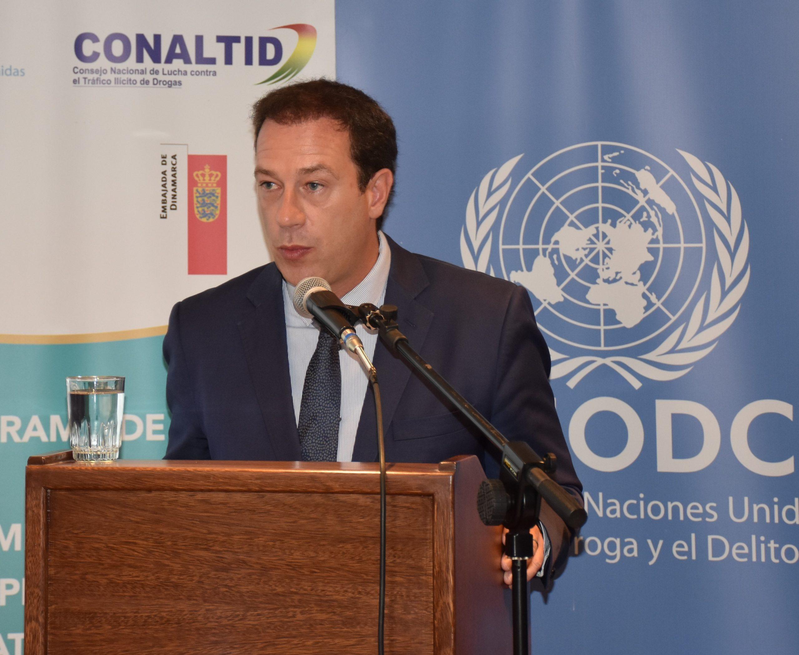"""UNODC urge a reactualizar el estudio del consumo de la coca y revisar la Ley que fue """"inflada"""""""