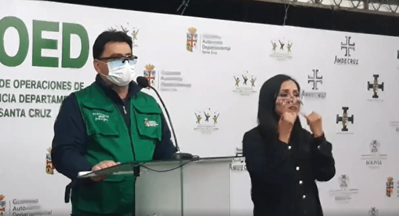 Sedes Santa Cruz reportó 173 nuevos casos positivos de Covid-19 y 583 recuperados