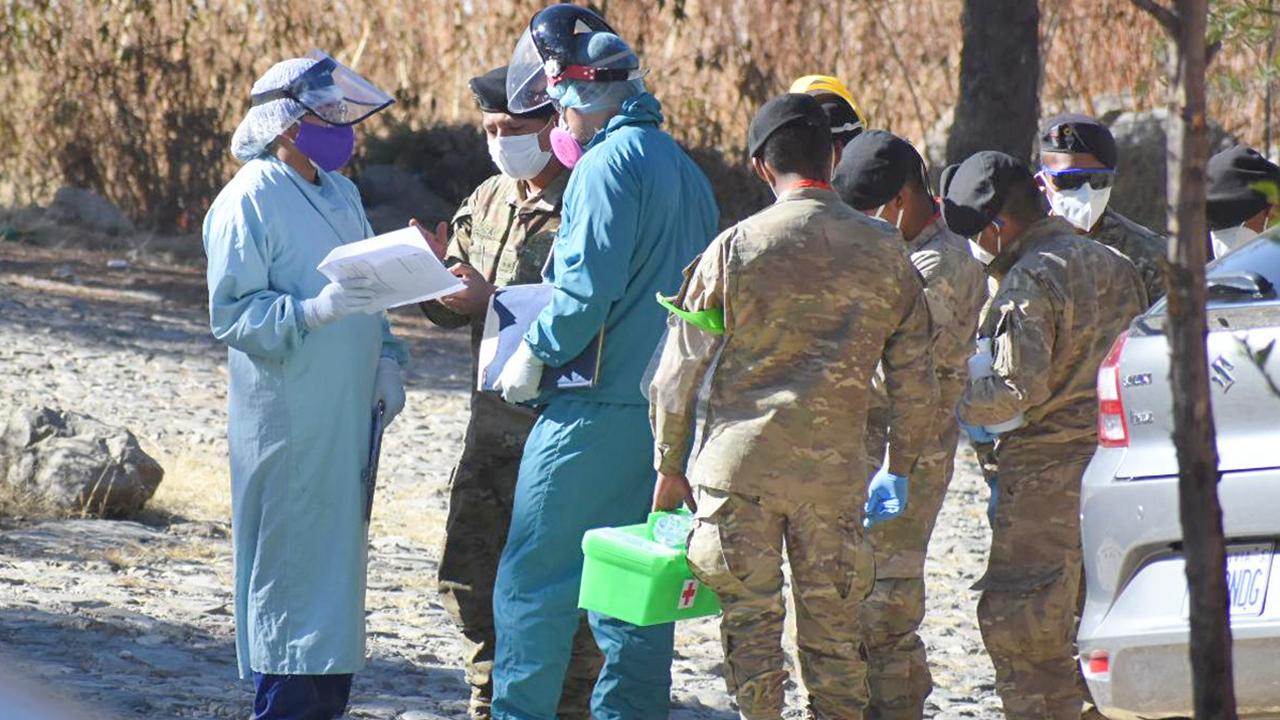 La Paz identificó 812 casos positivos de Covid-19 en dos días de megarastrillaje