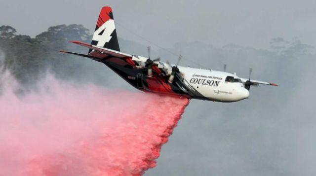 Bolivia contrata un avión cisterna C-130 para aplacar incendios forestales