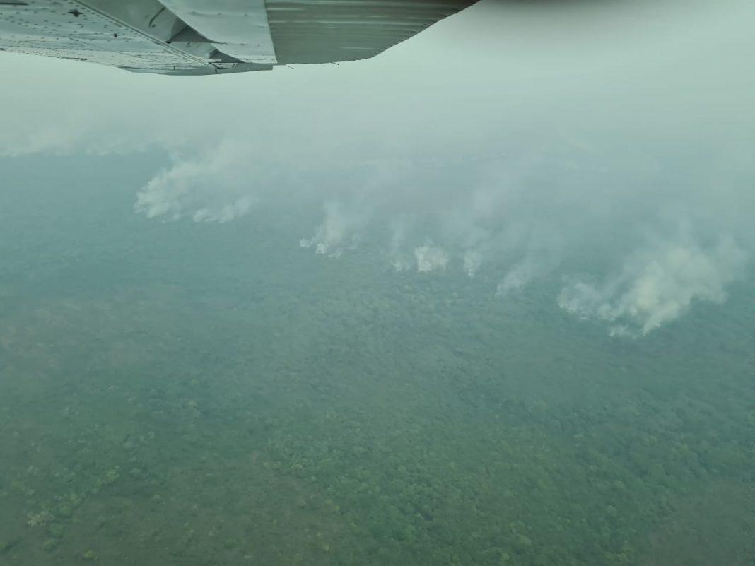Declaran Emergencia Departamental por incendios y sequía