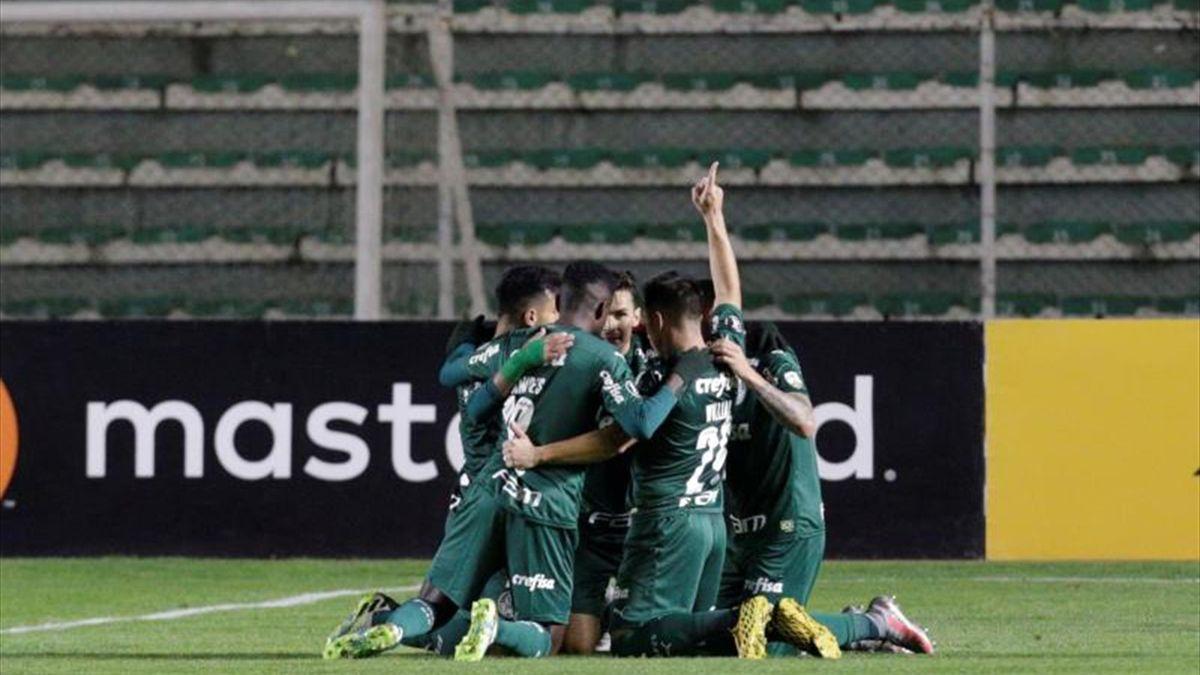 Bolívar se aplaza en el reinicio de la Libertadores y cae ante el Palmeiras en el Siles