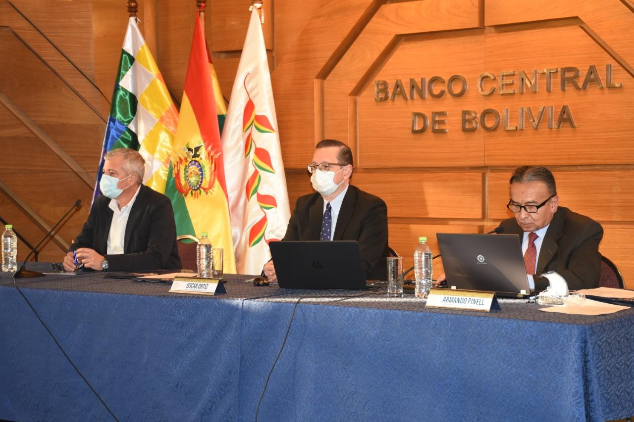 BCB ratifica proyección de -6,2% de decrecimiento económico e inflación de 1,7%