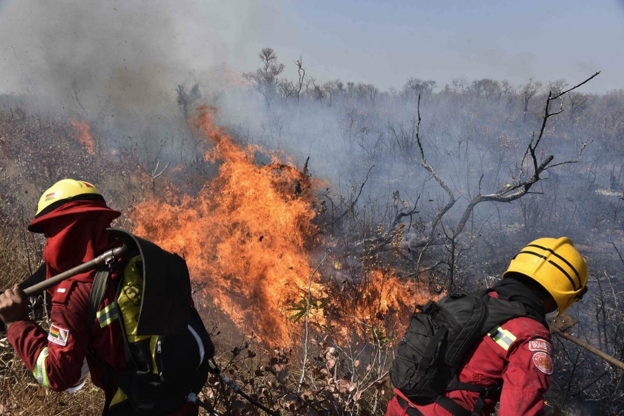 Incendios arrasaron con al menos 4.000 hectáreas del parque Noel Kempff, según el Gobierno