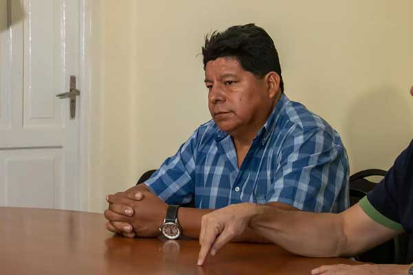 """Suizo de Nilson: """"Tenemos 80 mil hectáreas consumidas y más de 25 focos de incendio"""""""