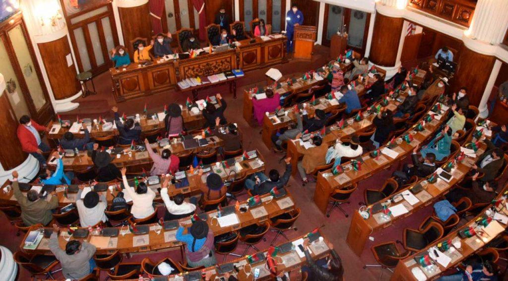 Asamblea aprueba informe para enjuiciar a ministros por compra de gases lacrimógenos y material no letal