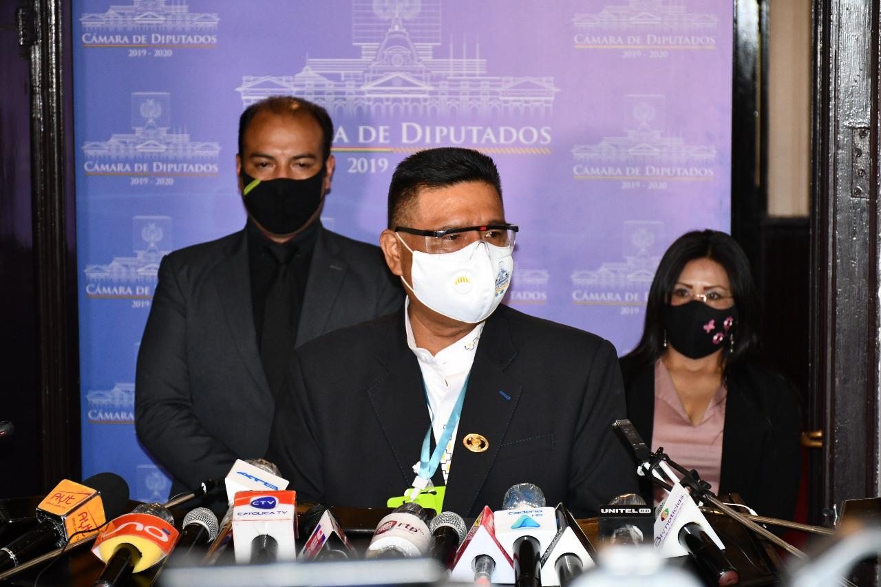 Choque anuncia que se dejará a la próxima legislatura la elección del Defensor del Pueblo