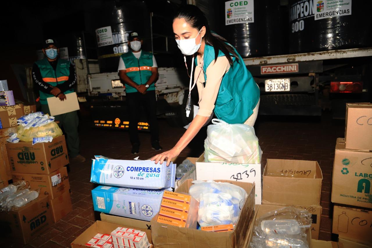 El COED despacha tanques de agua, forraje y medicamentos para ser distribuidos en 5 municipios
