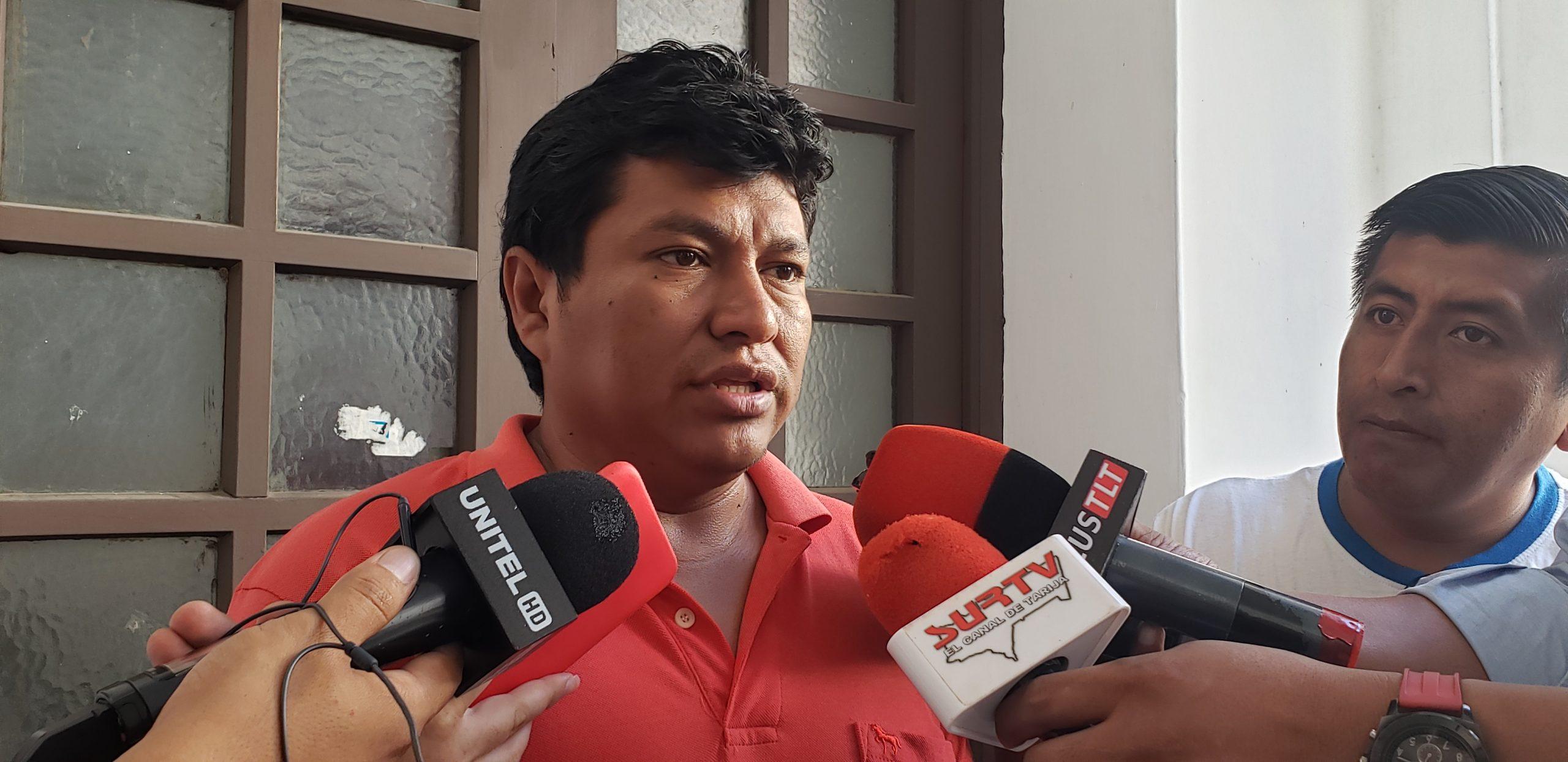 """Orellana: """"La marcha es por los 2/3 y una auditoria por las elecciones"""""""