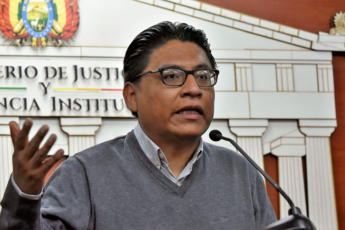 Ministro propone que el referendo constitucional para reformar la justicia se realice el 7 de marzo