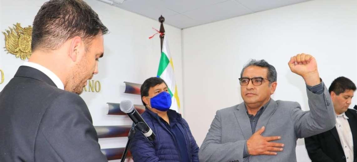 Lazcano vuelve como Viceministro de Seguridad Ciudadana y Rodas asume en Régimen Interior