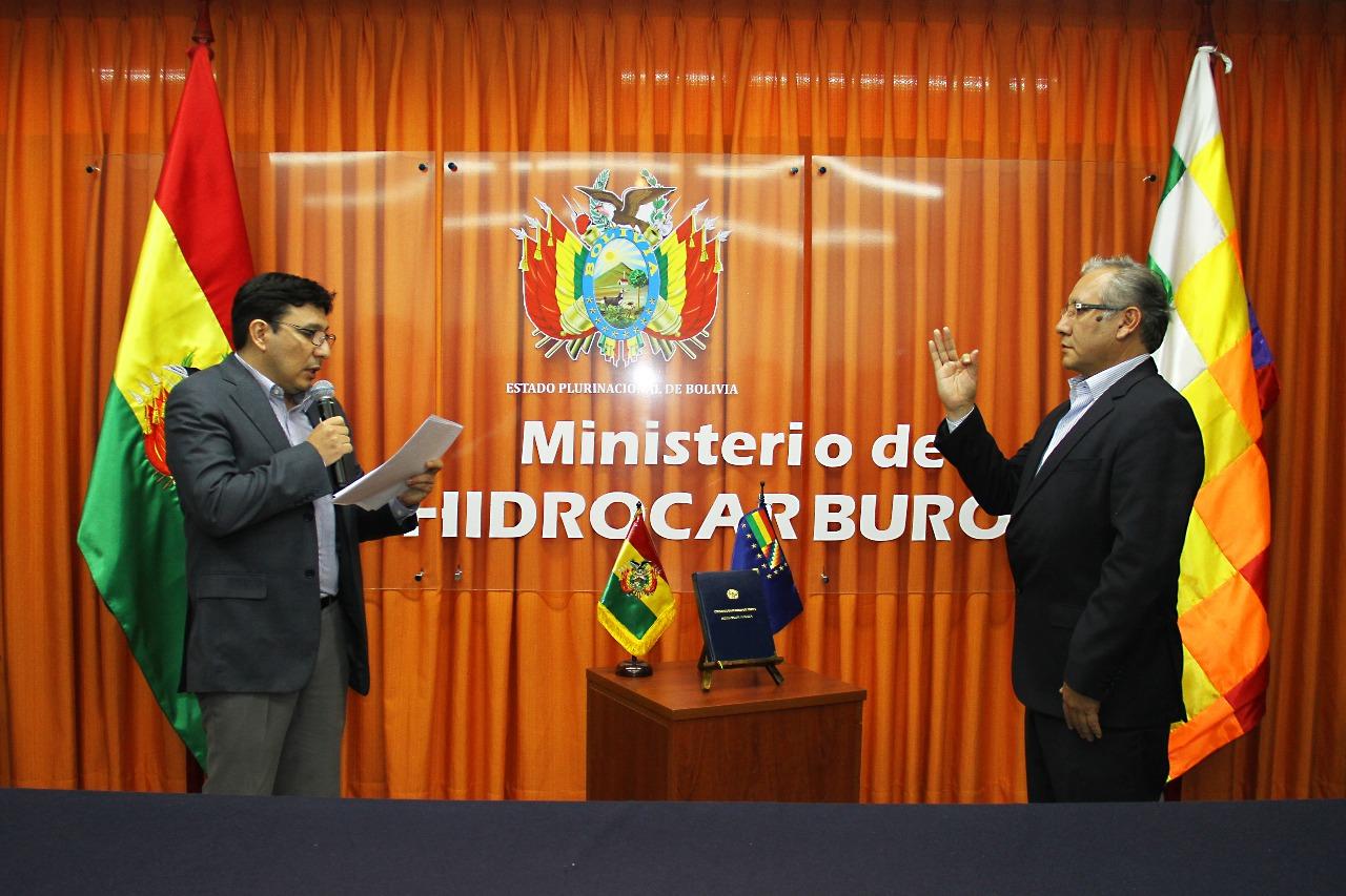 Wilson Zelaya es el nuevo presidente de YPFB