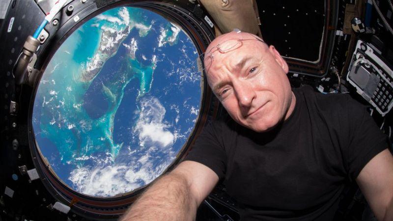 """""""Podría haberme quedado más tiempo"""": Scott Kelly, el astronauta que permaneció 340 días en el espacio"""