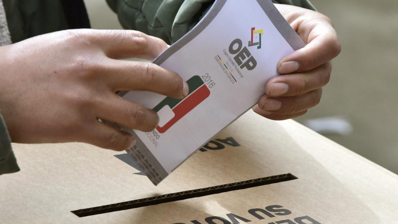 El TSE rechaza pedido de postergar las elecciones subnacionales
