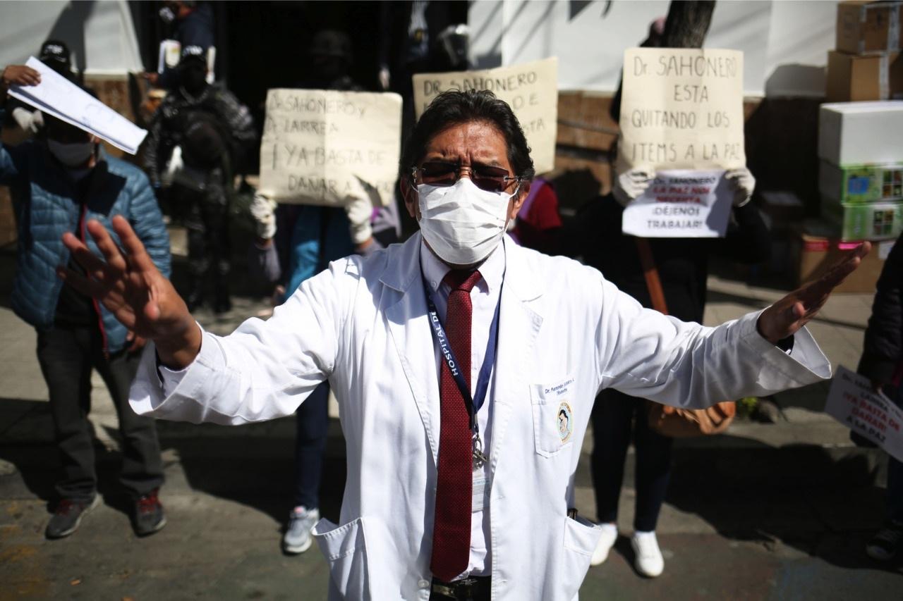 Sirmes va al paro en demanda de condiciones para atender a pacientes con Covid-19