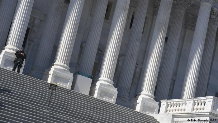 El Capitolio refuerza seguridad por nueva amenaza extremista