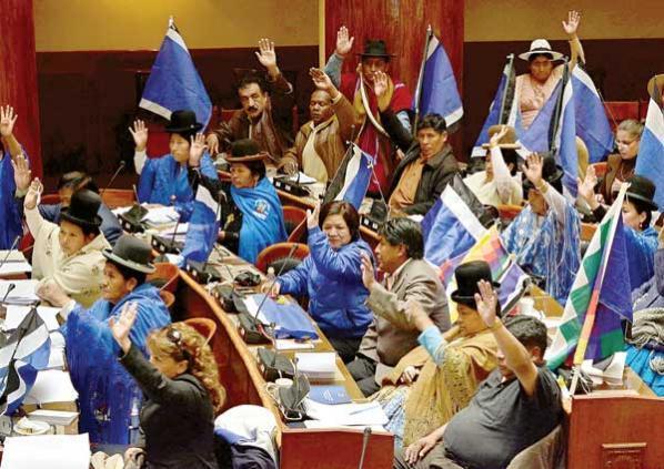 Parlamentarios del MAS piden garantías para retomar sesión en la Asamblea Departamental