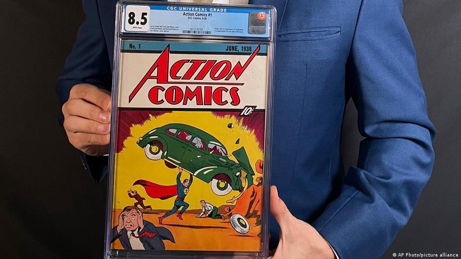Venden el primer cómic de Superman por 3,2 millones de dólares