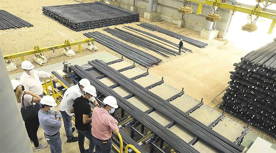 Firma nacional bate récord en producir acero