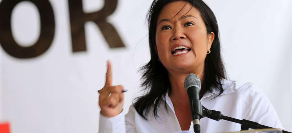"""""""Vaya a candidatear a Japón"""", el mensaje desde el MAS a la candidata peruana Keiko Fujimori"""