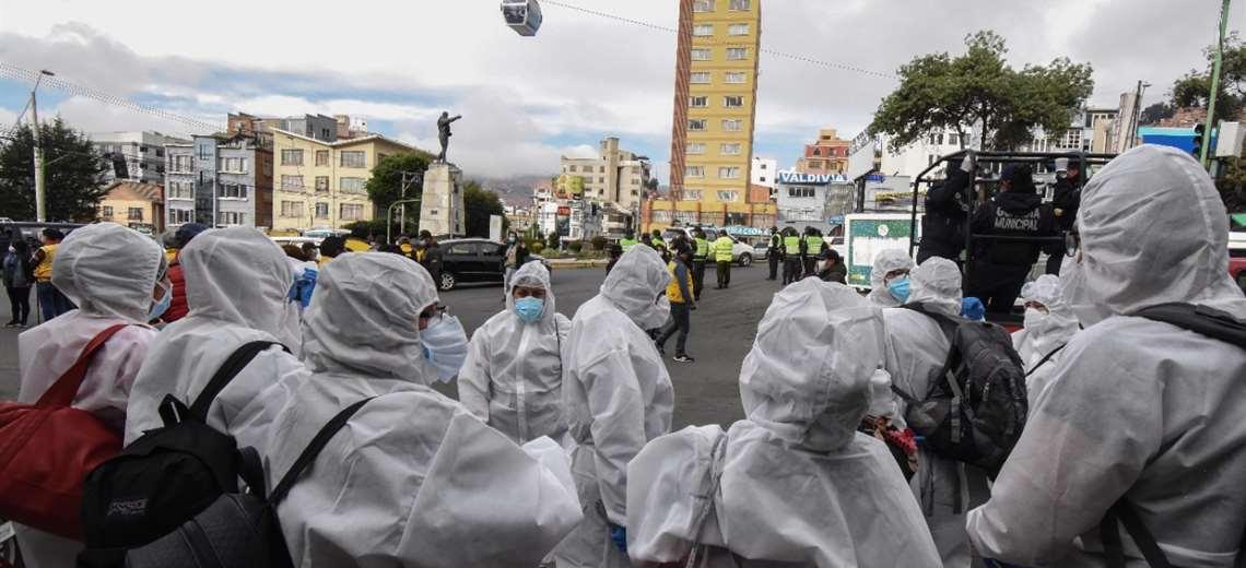 Tercera ola del Covid-19 afecta más a personas de entre 30 a 39 años en La Paz