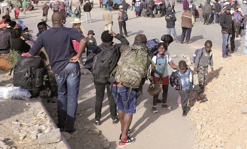 56 detenidos en Oruro y el drama de las familias haitianas crece en Bolivia