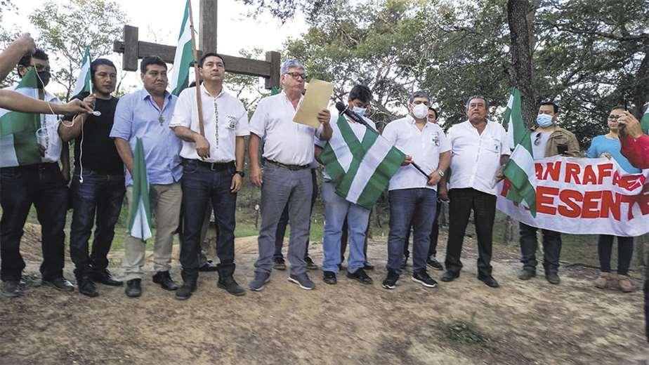 Cívicos e indígenas se declaran en emergencia por la toma de tierras