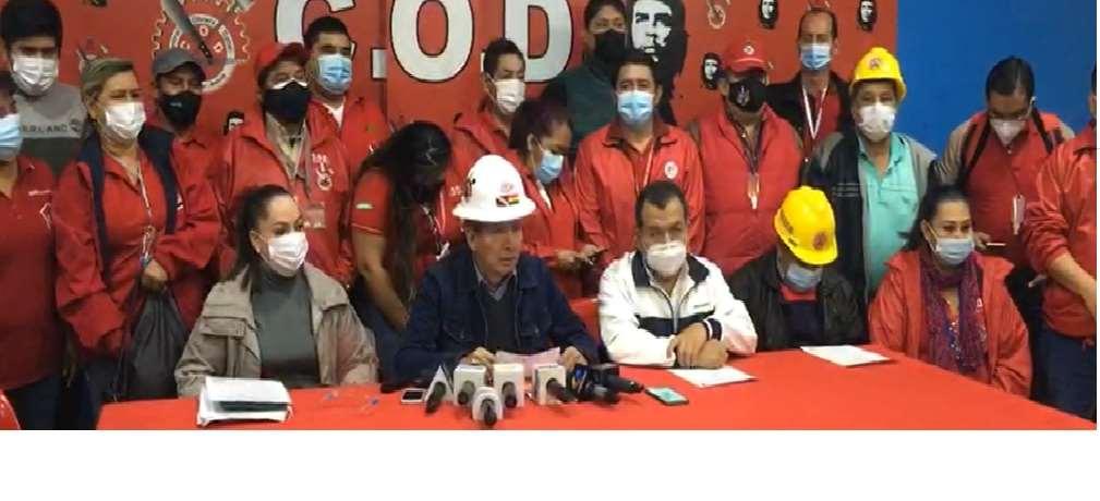 COD Santa Cruz convoca a marcha por estabilidad laboral, retardación de justicia, derecho a la tierra y defensa a gremiales